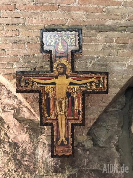 Assisi_CasaDiSanFrancesco_Kreuz