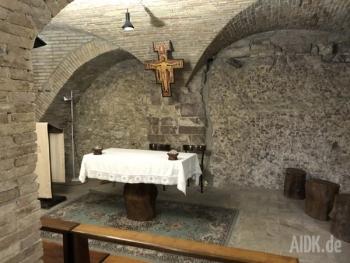 Assisi_CasaDiSanFrancesco_Altar1