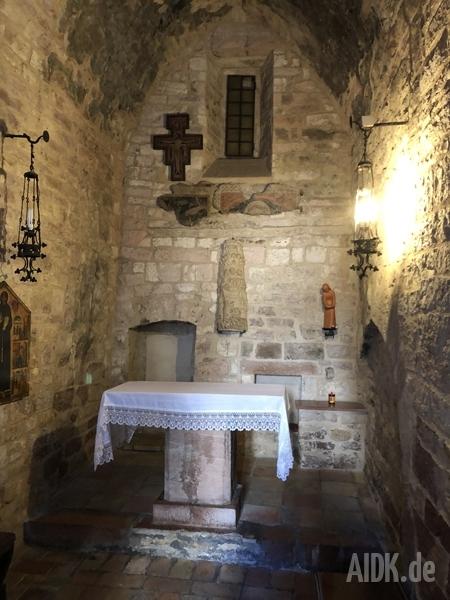 Assisi_SanFrancescoPiccolino_Altar