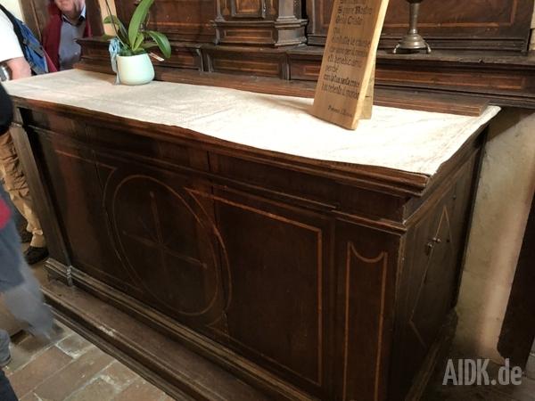 Greccio_KircheDesBonaventura_Altar