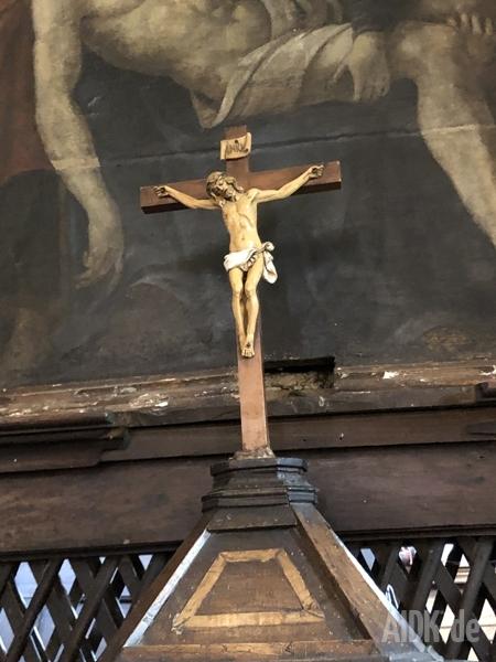 Greccio_KircheDesBonaventura_Kreuz