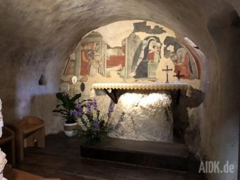 Greccio_Mariengrotte_Altar