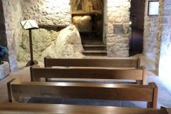 Greccio_Mariengrotte_Kirche1