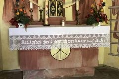 Kleinsassen_Gangolfskapelle_Altar