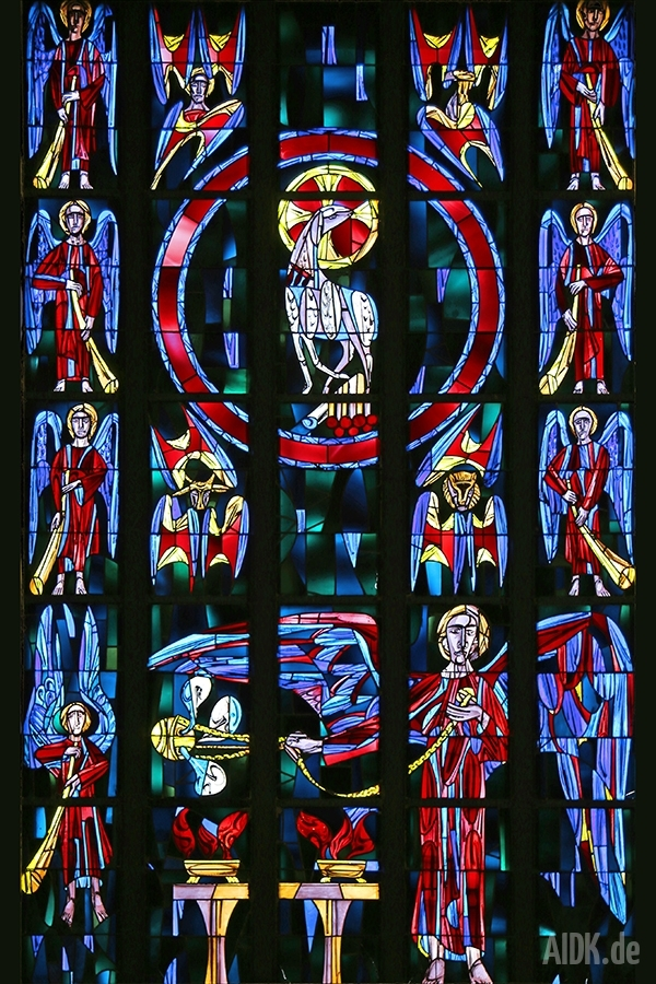 Fensterbild St. Michael