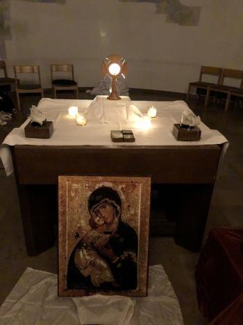 Wernau_MariaKoeniginKapelle_Altar2